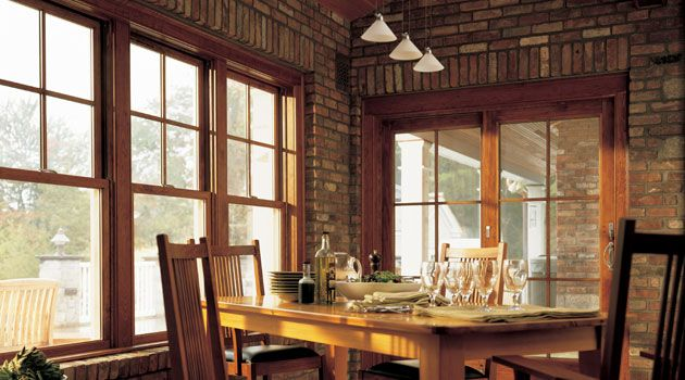 Andersen 174 400 Series Has A Variety Of Bay Windows Double