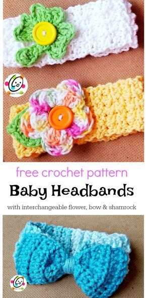 Free Pattern: Baby Lucy Headbands -