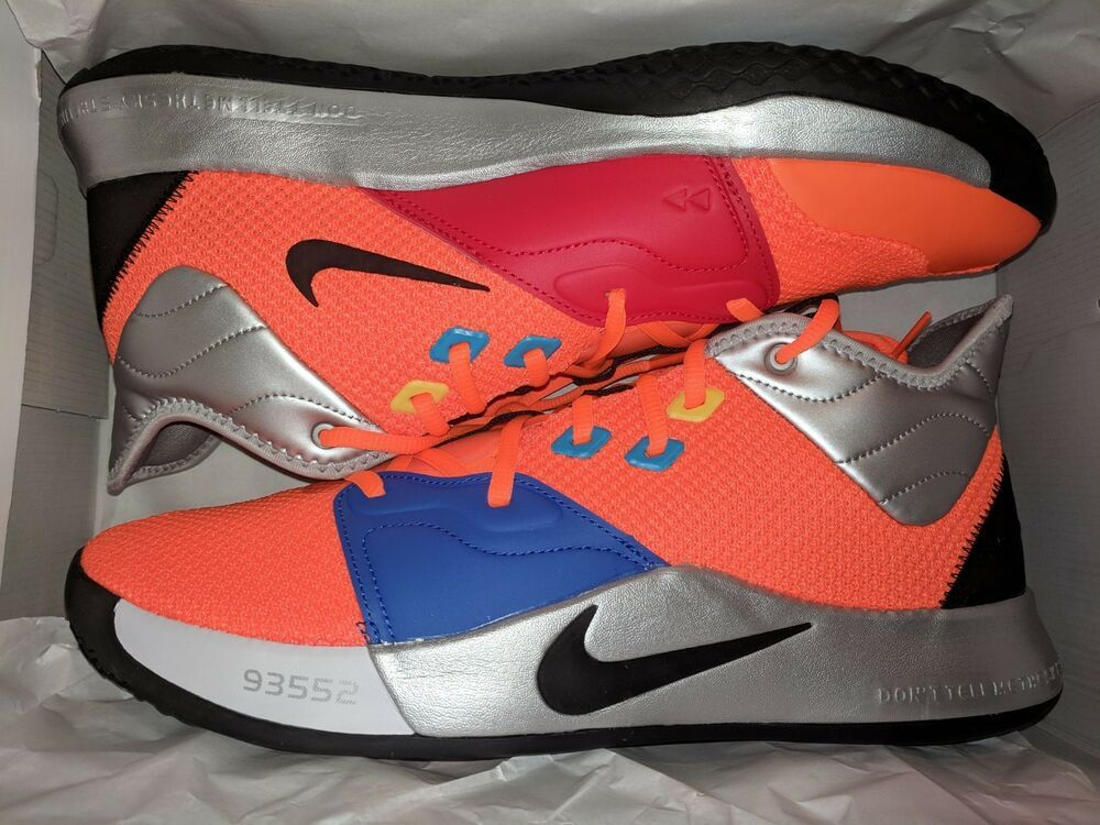 420fc28f2df1 Nike PG 3 x NASA Total Orange Paul George III 2019 SHIPS NOW Mens Size 13   fashion  clothing  shoes  accessories  mensshoes  athleticshoes (ebay link)