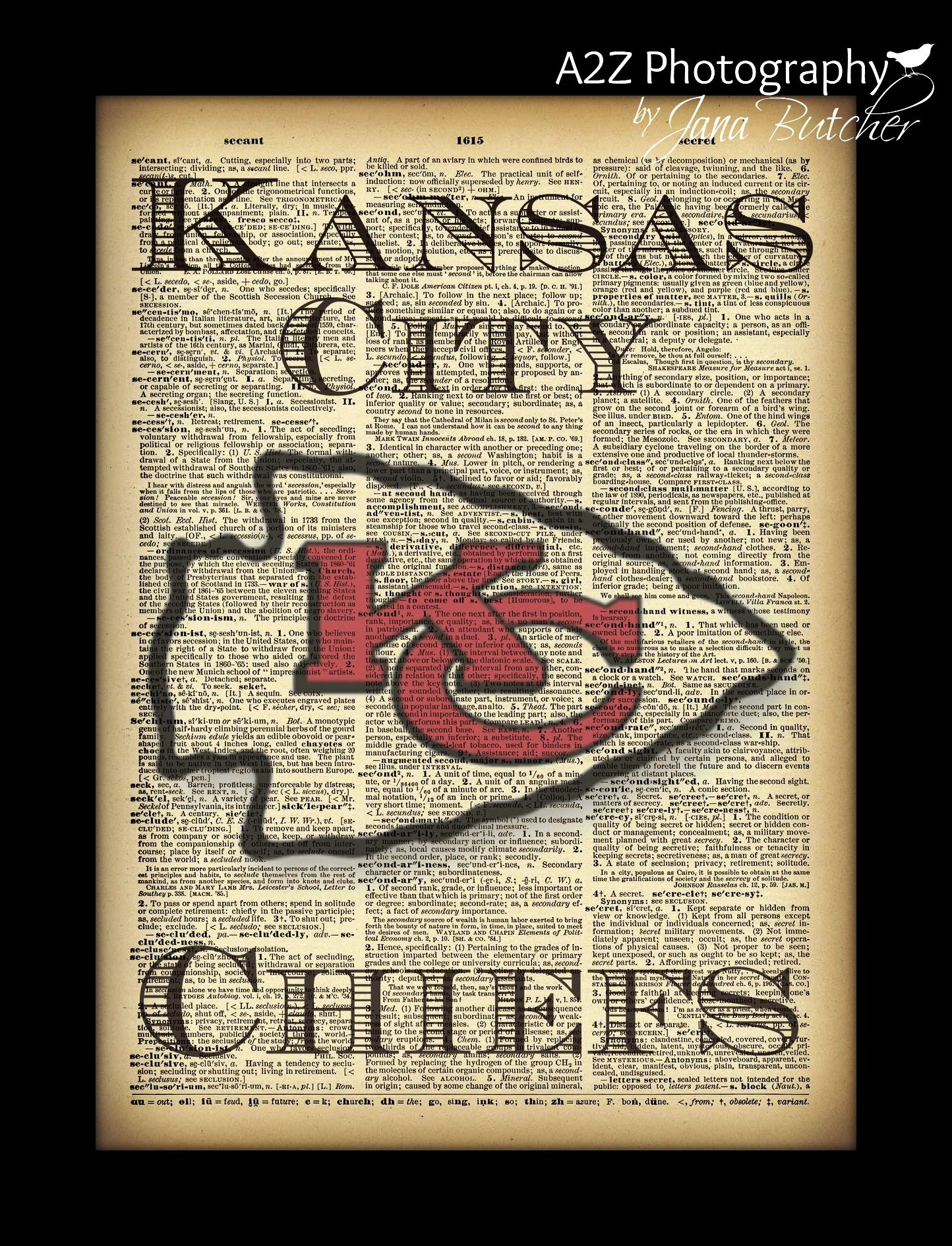 5e9b0413 KC+Chiefs+Dictionary+8x10+Print+by+A2Z+Photography The+perfect+ ...