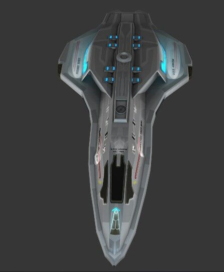 Just another hull shape that is pleasing and effective This would definitely be an central in-board main drive unit. Honestly, that wouldn't be so bad. Could just as easily go with an in-board cluster of 4 engines as a larger single.
