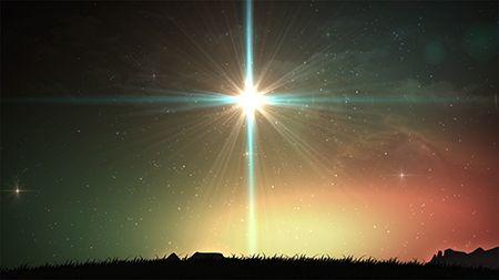 Church Media | Life Scribe Media | Christmas Nativity | Christmas play | Large Star | Star of Wonder | Worship Backgrounds | Design