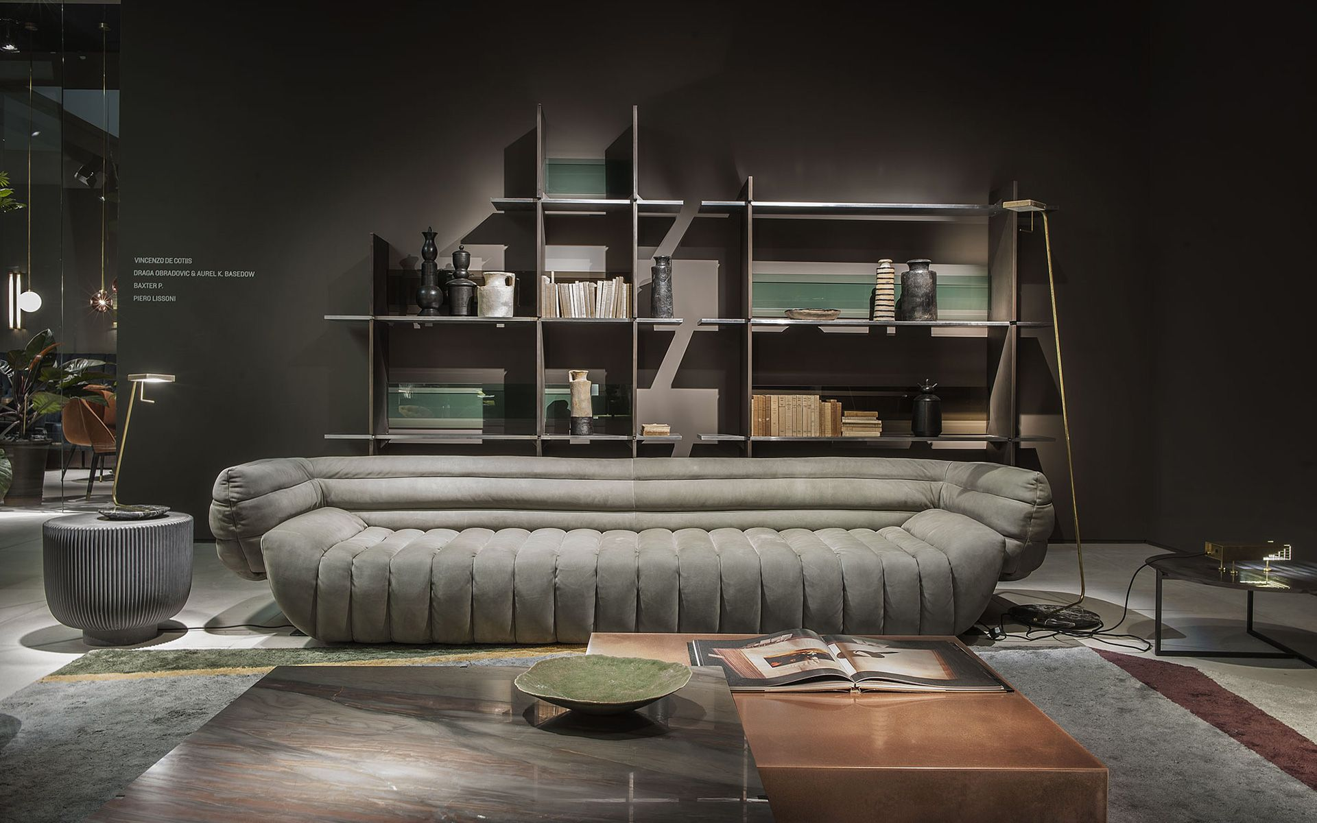 Tactile Sofa And Armchair By Baxter