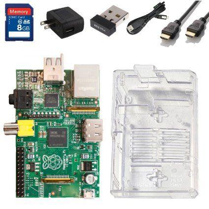 Raspberry Pi Complete Starter Kit - $62.95