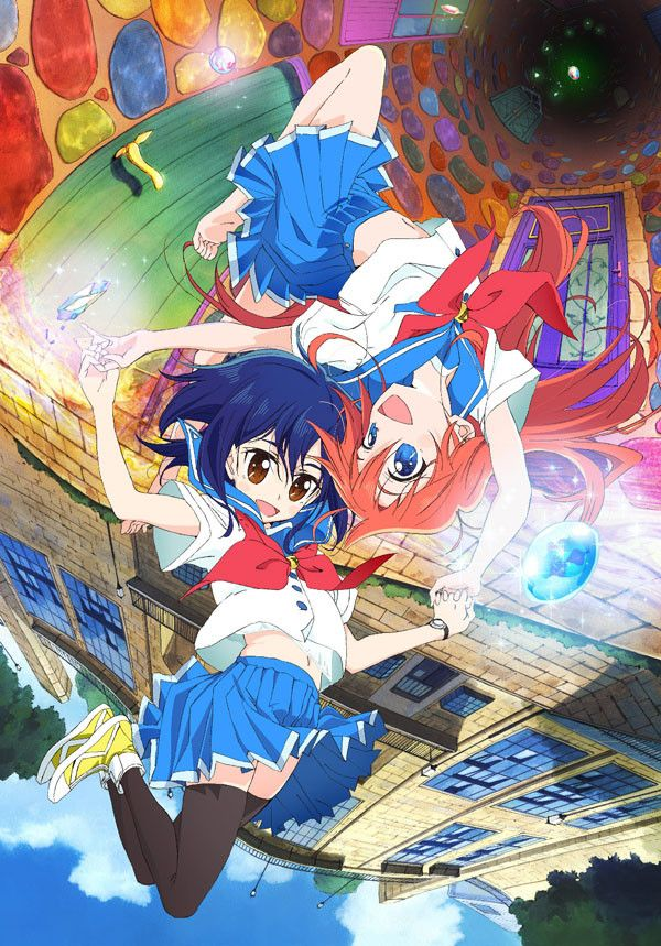 Flip Flappers Anime Visual Hits The Web  Anime Stuffs