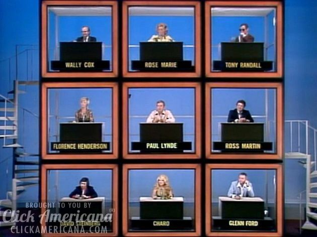 hollywood squares powerpoint template - the hollywood squares game show intro 1966 1960s