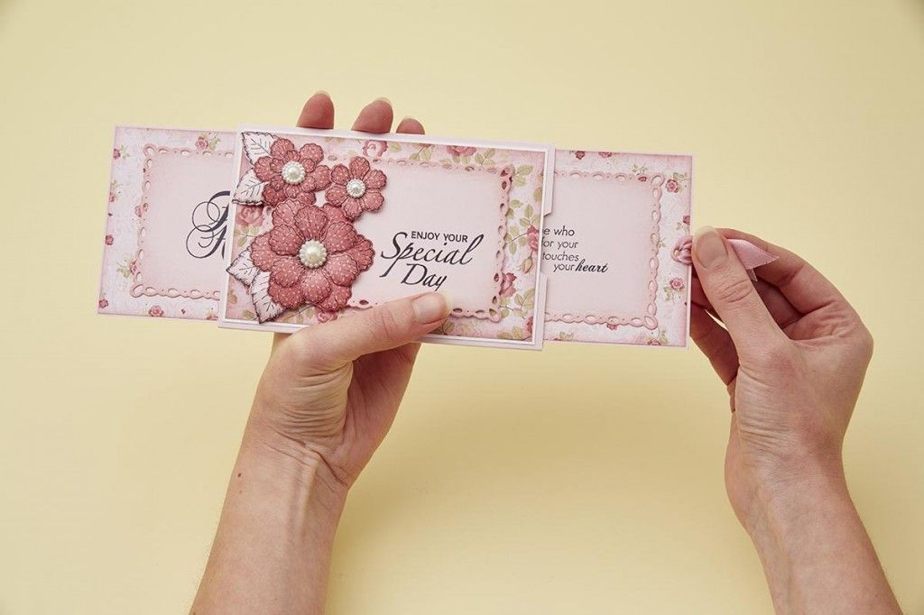 Learn how to make a clever hidden sentiment slider card on the Papercraft Inspirations website!