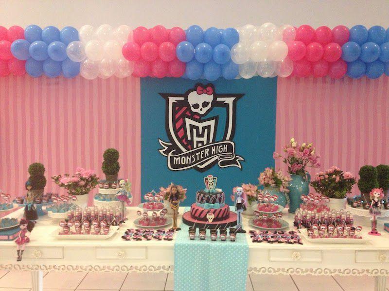 Festa Monster High Azul Rosa Branco Jpg 800 600 Festa Monster