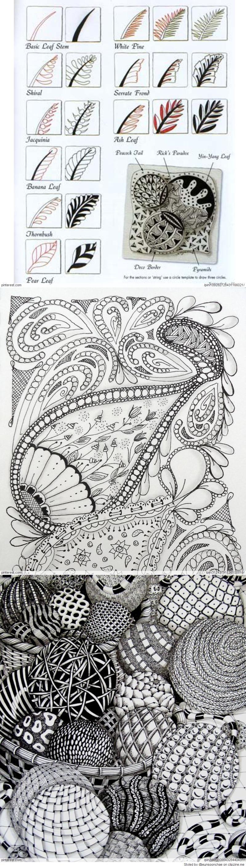 Zentangle Pattern Ideas Unique Decorating