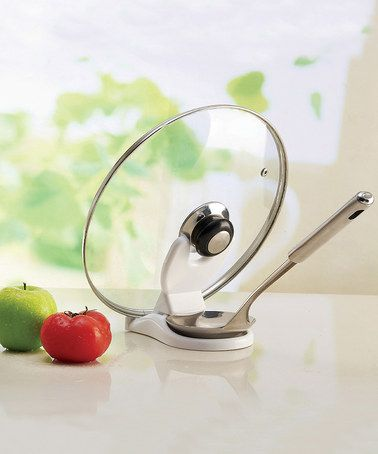 Take a look at this Spoon & Lid Saver & Funnel - Set of Two by Ginsey on #zulily today!