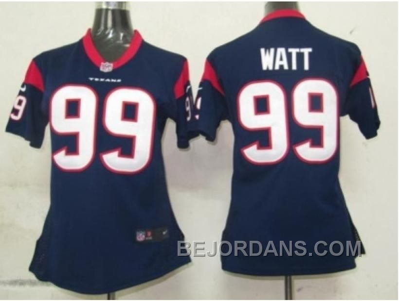 99 elite j.j. watt houston texans youth jersey nfl grey shadow  free shipping