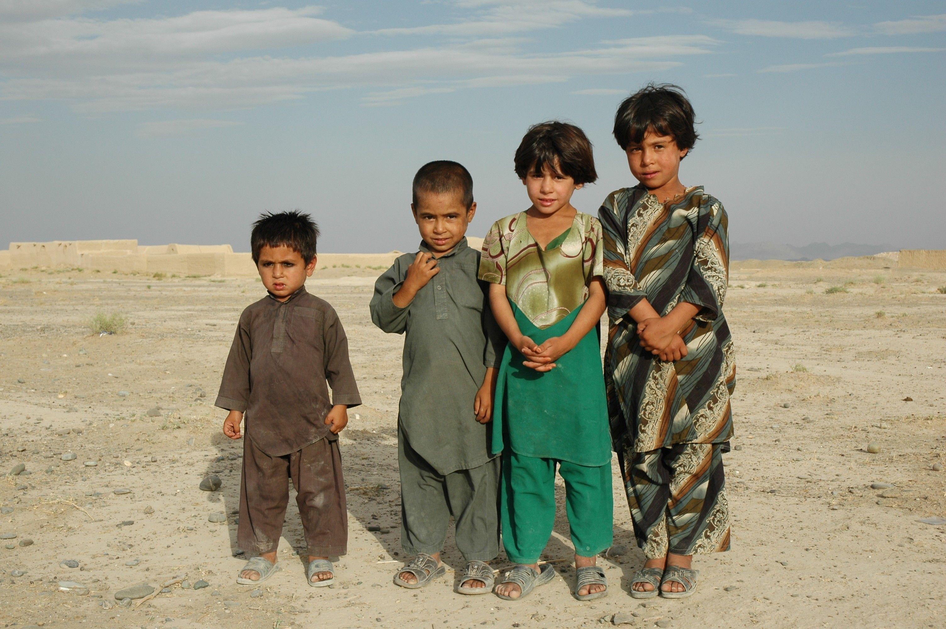 Image result for .Afghanistan War Children
