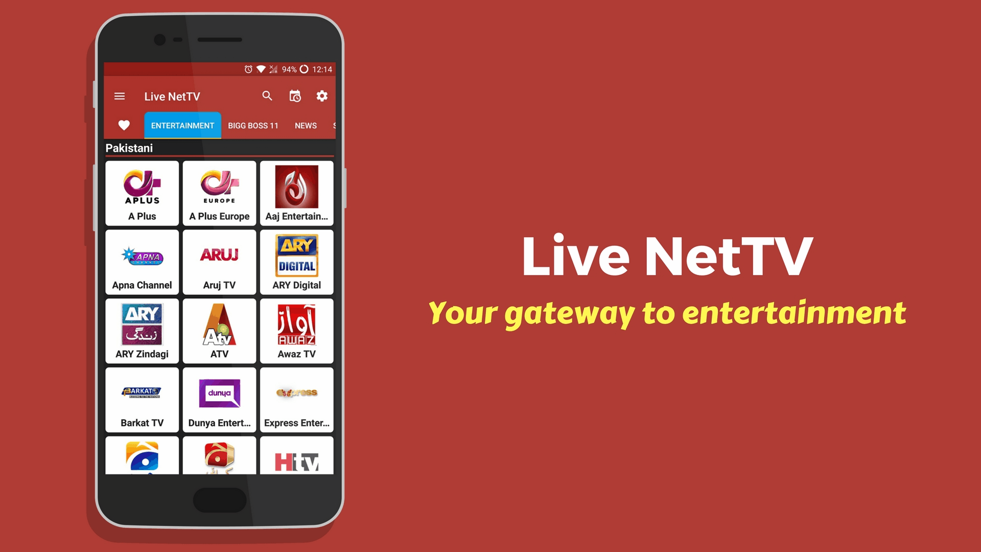 Download Live NetTV Free Live Streaming App For Android