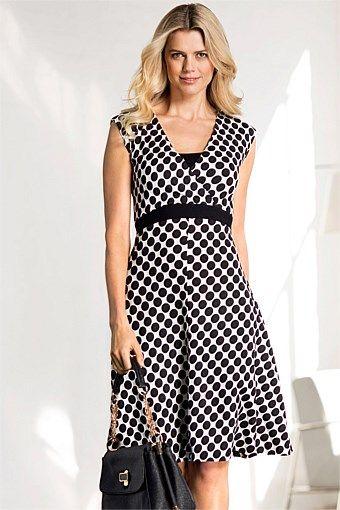 Dresses - Capture Wrap Dress - EziBuy Australia