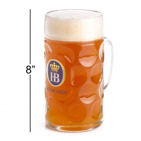 Ecco il famoso Maß: un litro di #birra tutto da gustare!