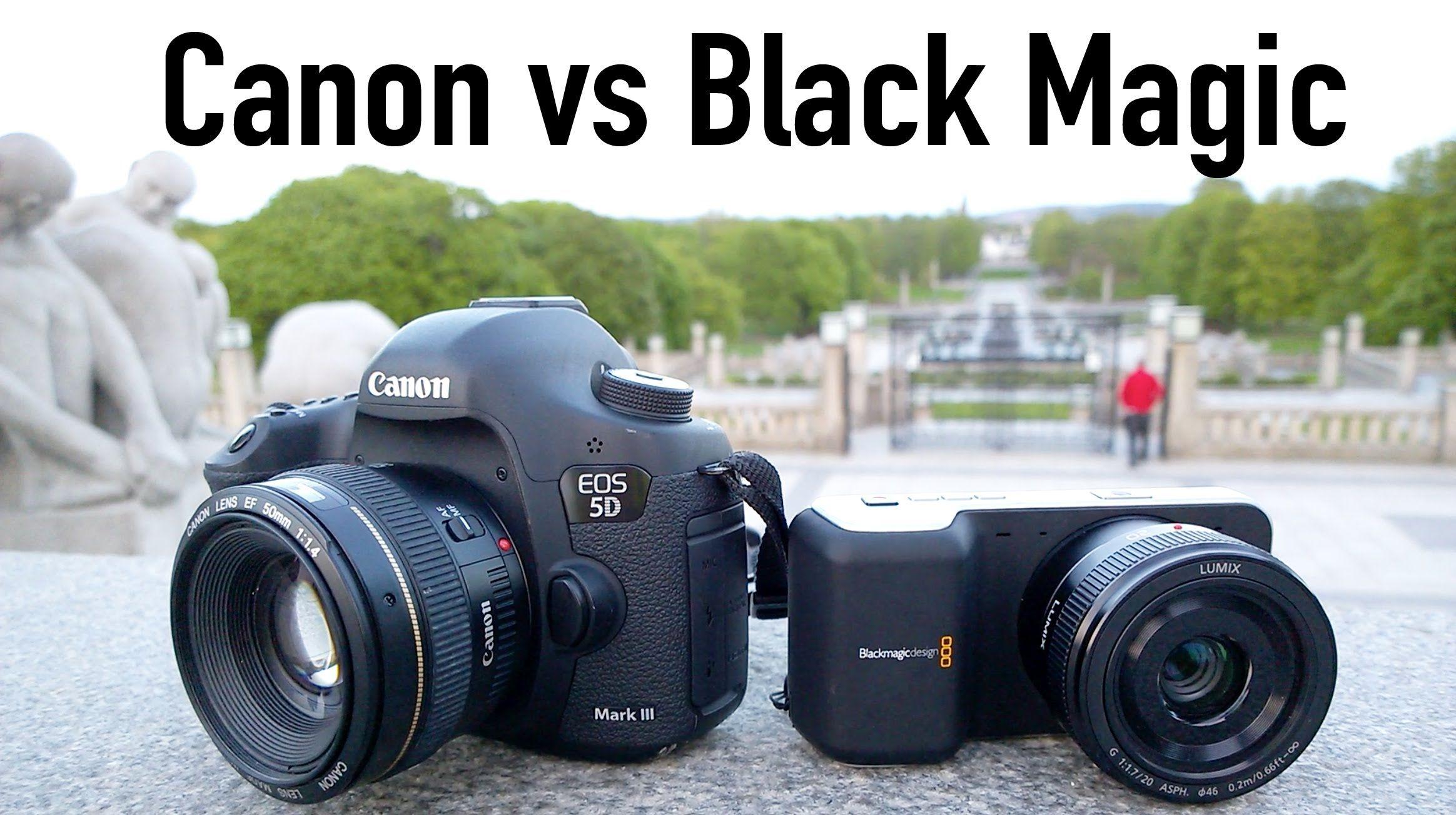 Canon 5d Mark Iii Vs Black Magic Pocket Camera The Ultimate Challenge Pocket Camera Canon 5d Mark Iii Filmmaking