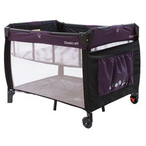 The Siesta 2 in 1 Portable Cot is great for social bubs ...