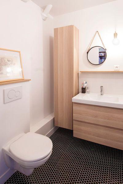 Avant Apres Refaire Un Duplex Sans Tout Casser Inspiration Salle De Bain Deco Toilettes Repeindre Meuble Salle De Bain