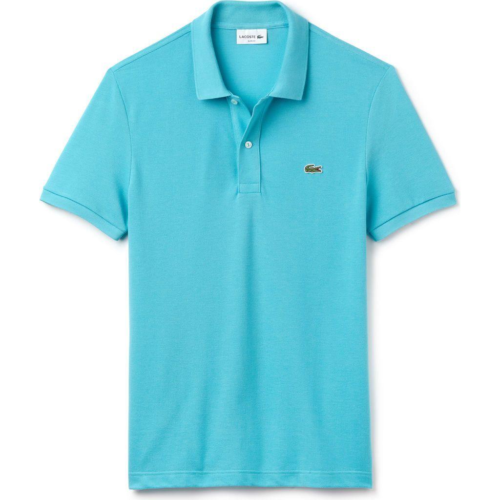 16da3ac16 Lacoste Slim Fit Pique Men s Polo Shirt