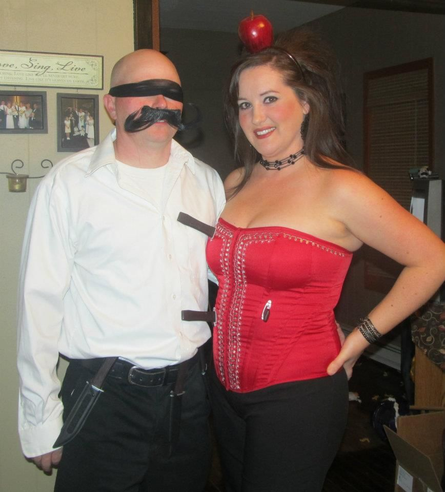 Knife Thrower and his Target.... I mean Assistant | Halloween ...