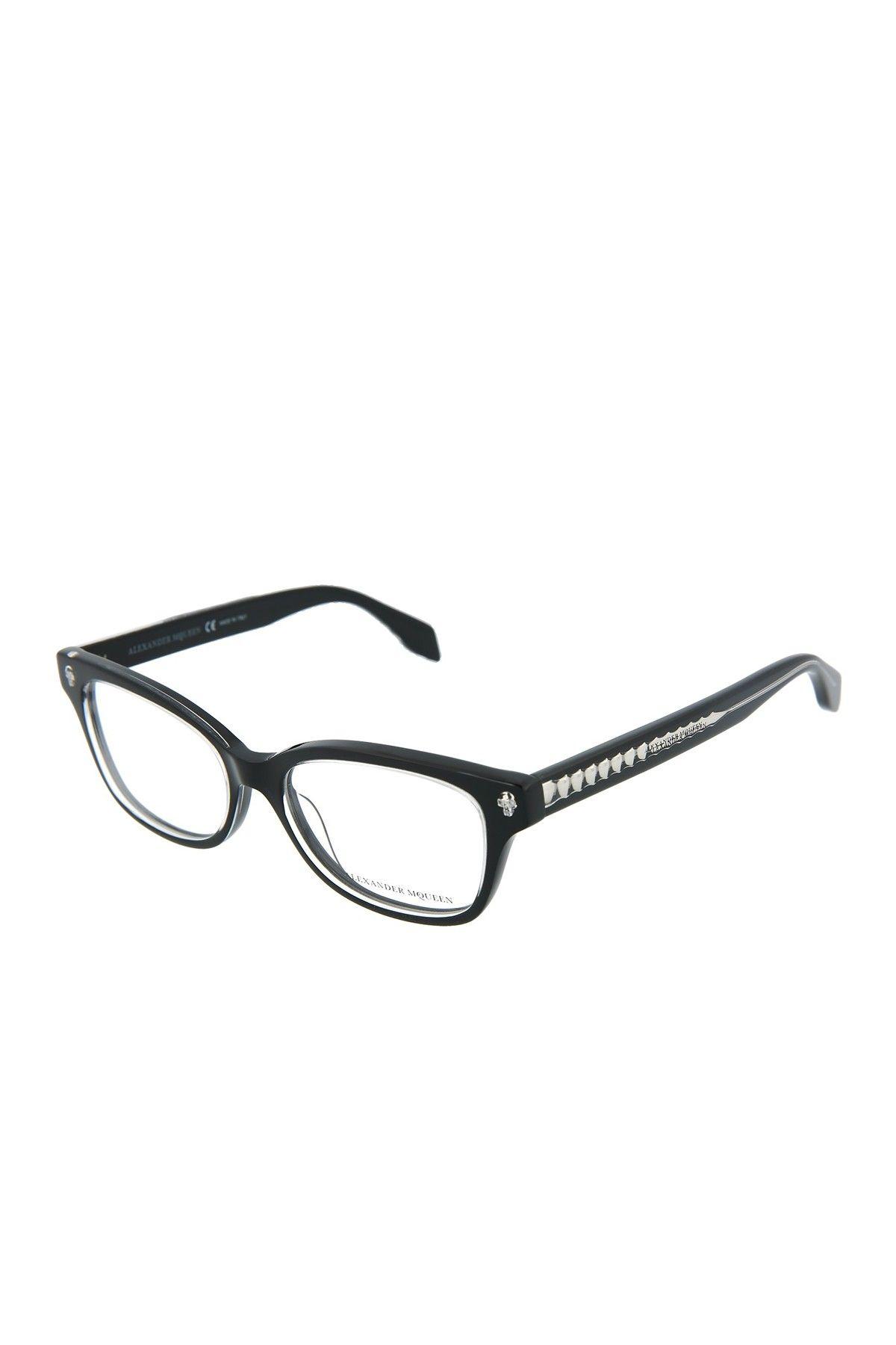 Alexander McQueen   50mm Acetate Optical Frames #nordstromrack