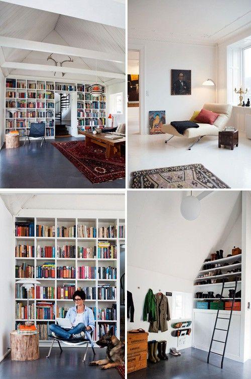 Bookshelf galore | Playrooms, Book shelves and Organizing
