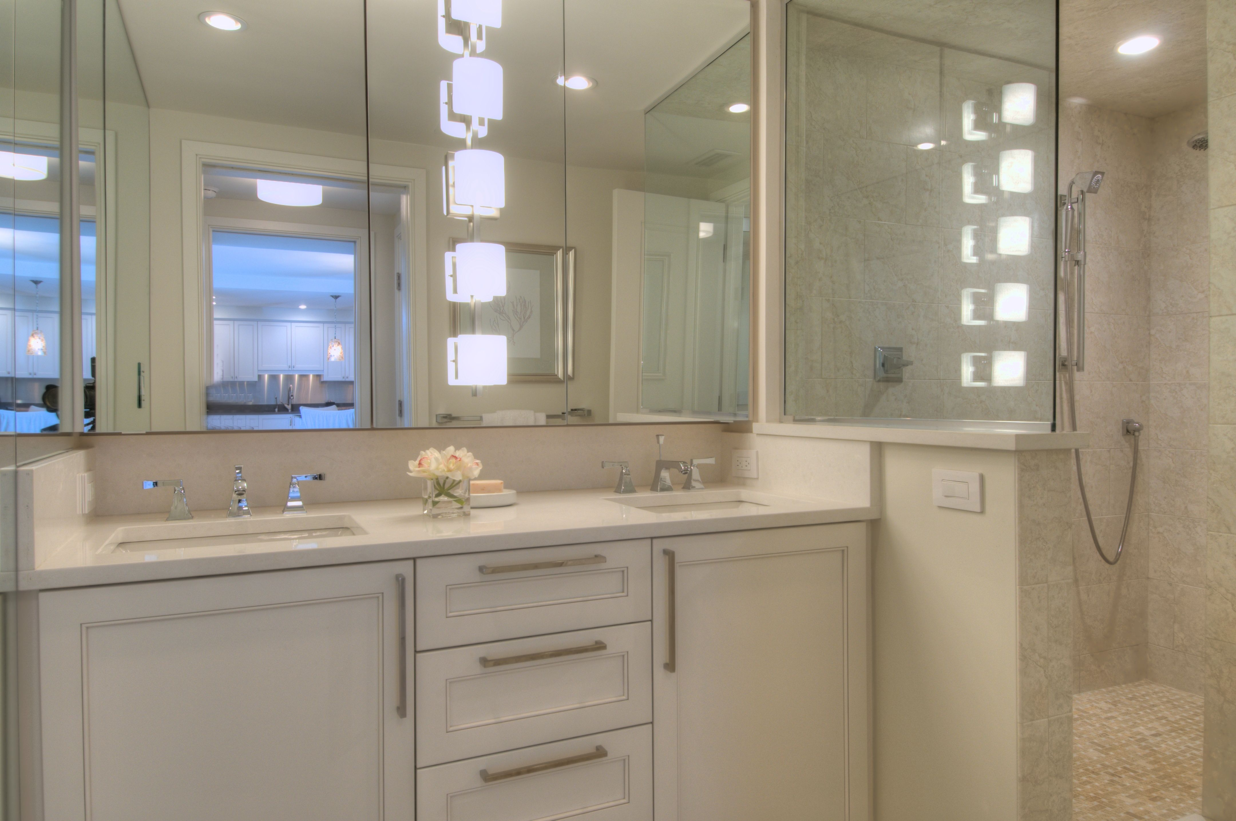 Traditional Cabinetry For This Bath Bathroom Cabinet Design By Metro Company