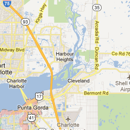 map of punta gorda - Google Maps | Charlotte Harbor Area | Pinterest ...