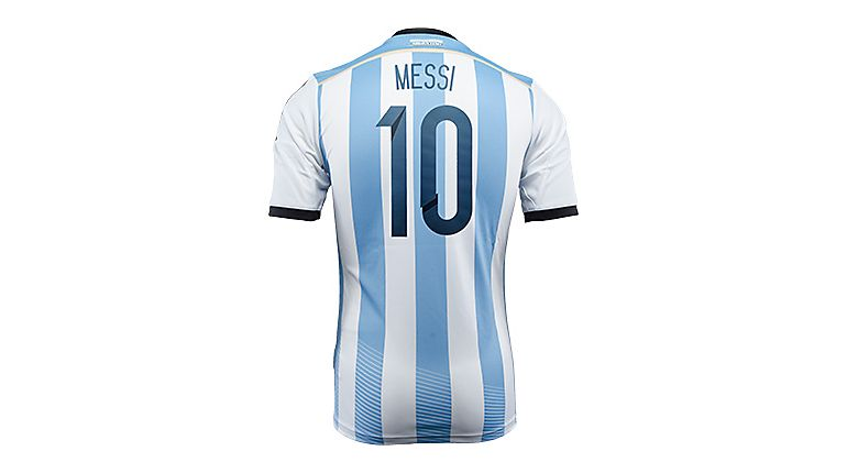 the latest 1ae7a 9b734 LEO! adidas Argentina Messi 2014 Home Jersey...Available at ...