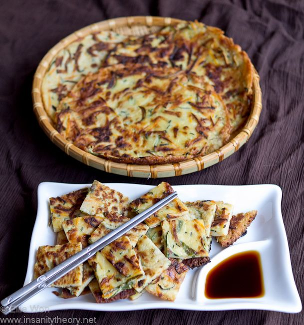 Kitchen Wench's Hobak Jeon (Zucchini Pancake)