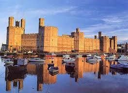 """Caernarfon Castle - world heritage site -  """"A brute of a fortress."""""""
