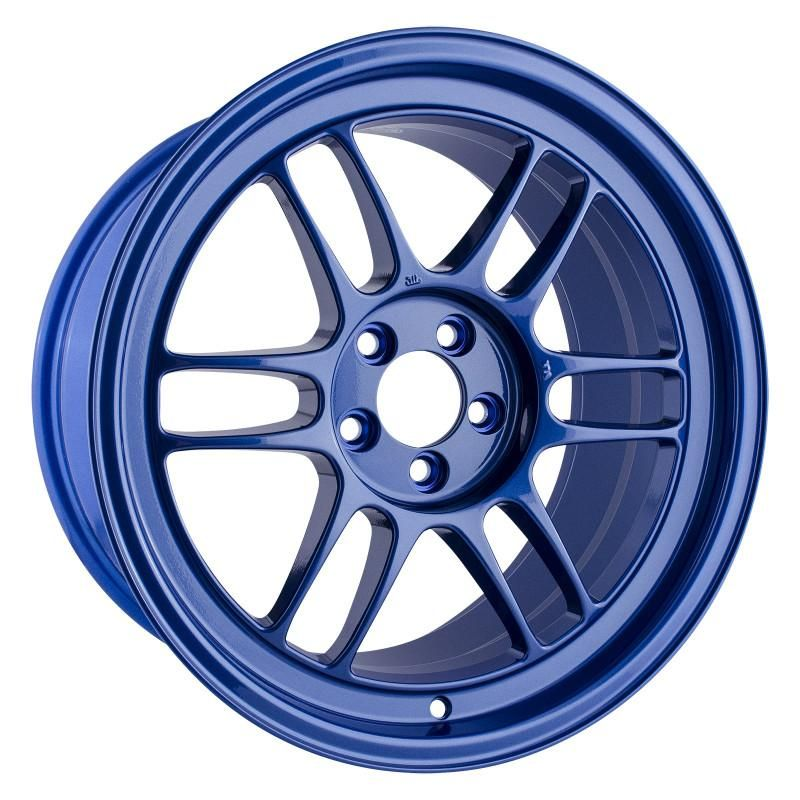 Enkei Rpf1 Victory Blue Wheel 17x9 Rim Size 5x100 Bolt Pattern 35mm Offset 73mm Bore Bolt Pattern Wheel Custom Wheels Cars
