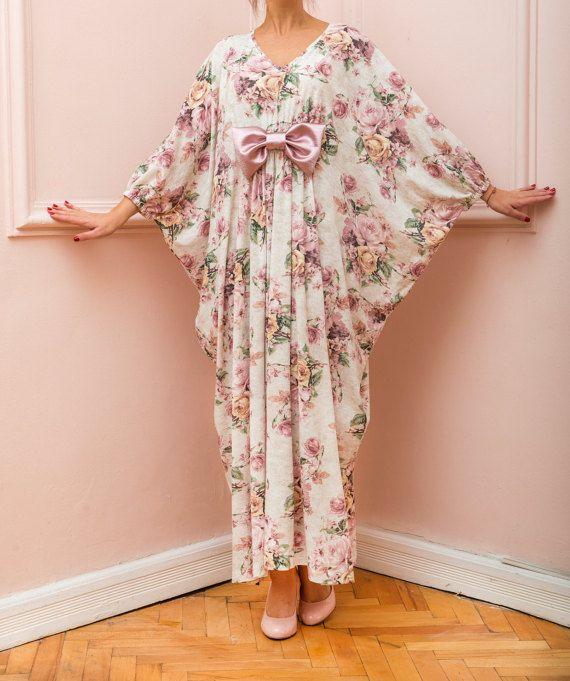 Floral Maxi Dress abito lungo Maxi Maxi abito Bow Dress