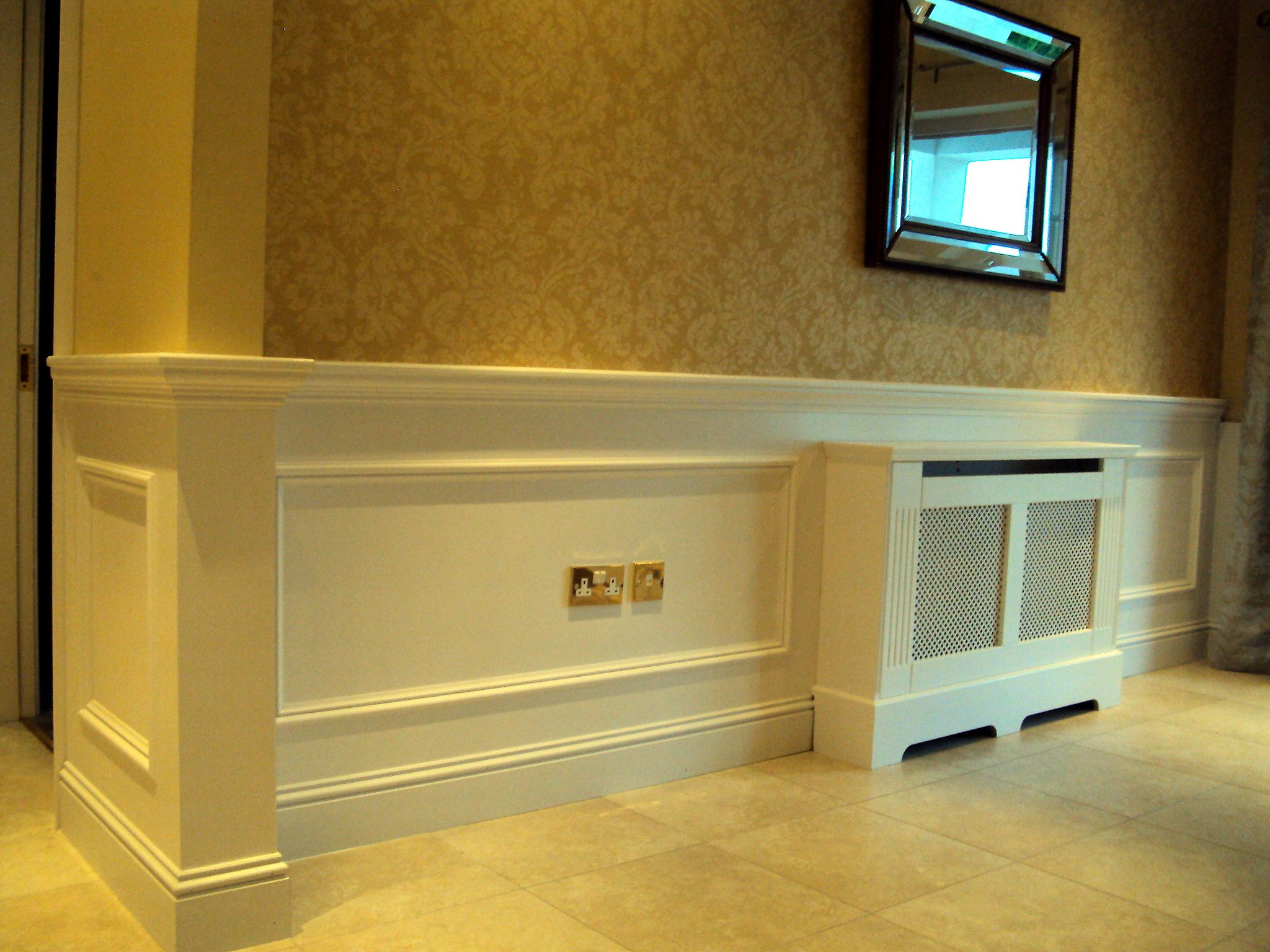 Dado Panelling | Panelling Ireland | Ideas for the House | Pinterest ...