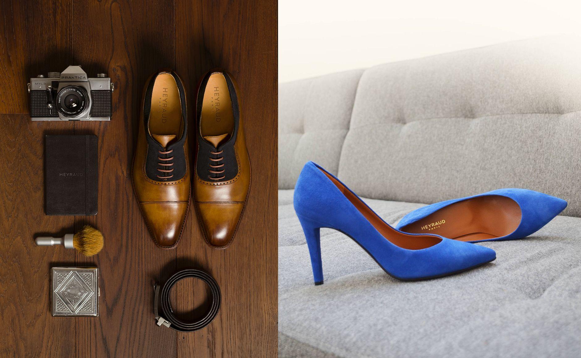 Création de la nouvelle identité visuelle de Heyraud Paris, marque de  chaussures et de maroquinerie 449cd4dfe25d