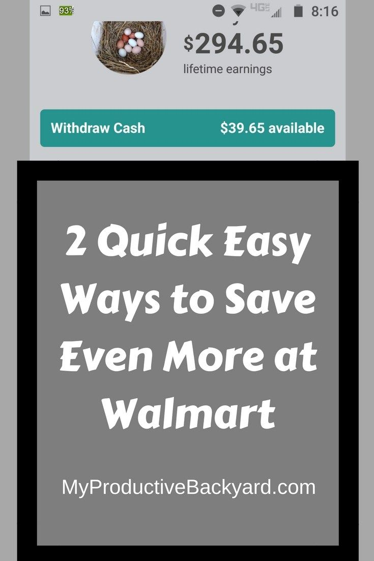 2 Quick Easy Ways To Save Even More At Walmart Quick