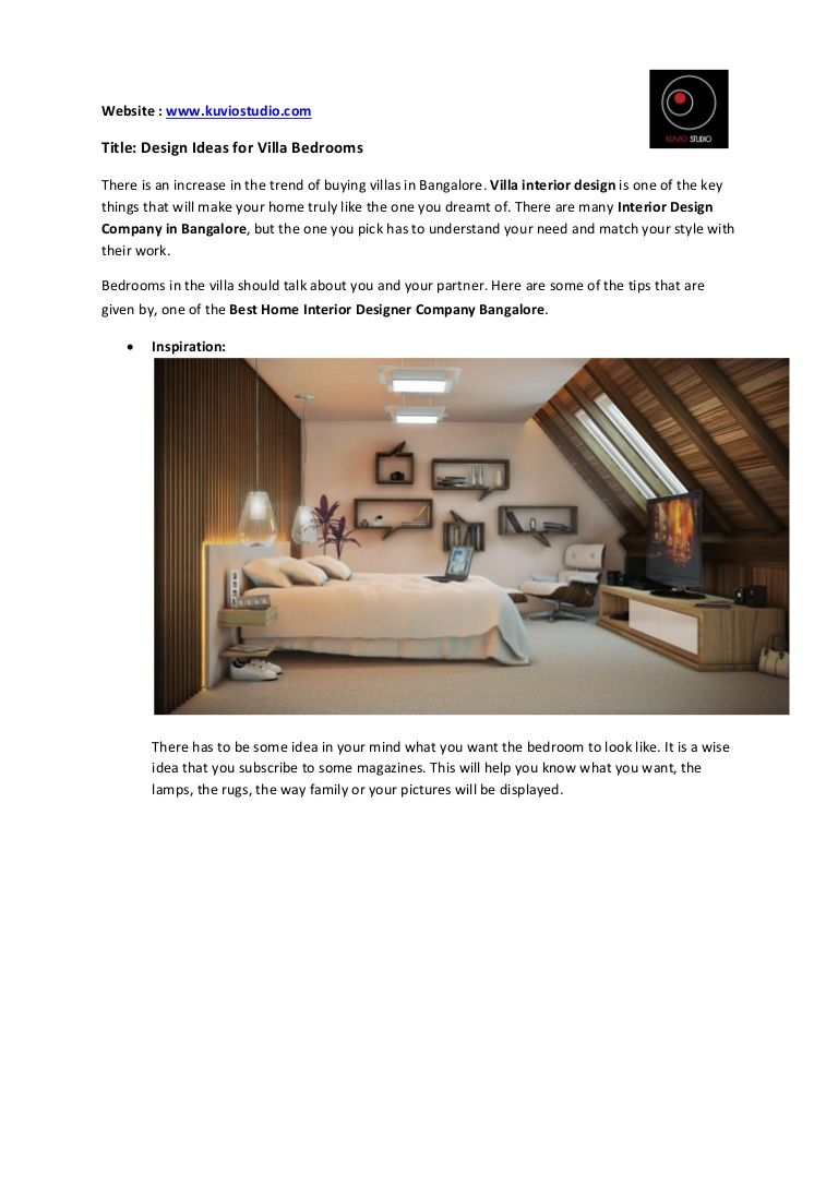 get design ideas for villa bedrooms villa interior design is one of