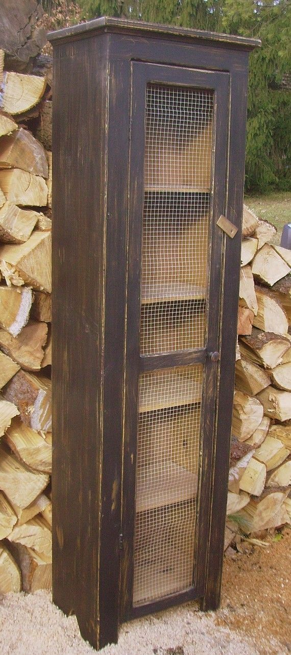 Jelly Cupboard Chimney Rustic Country