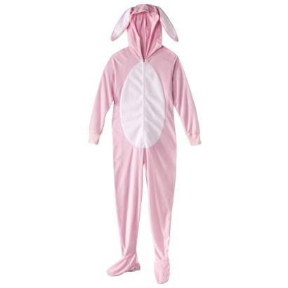 Women's Bunny Footie Pajama - Pink - A Christmas Story theme ...