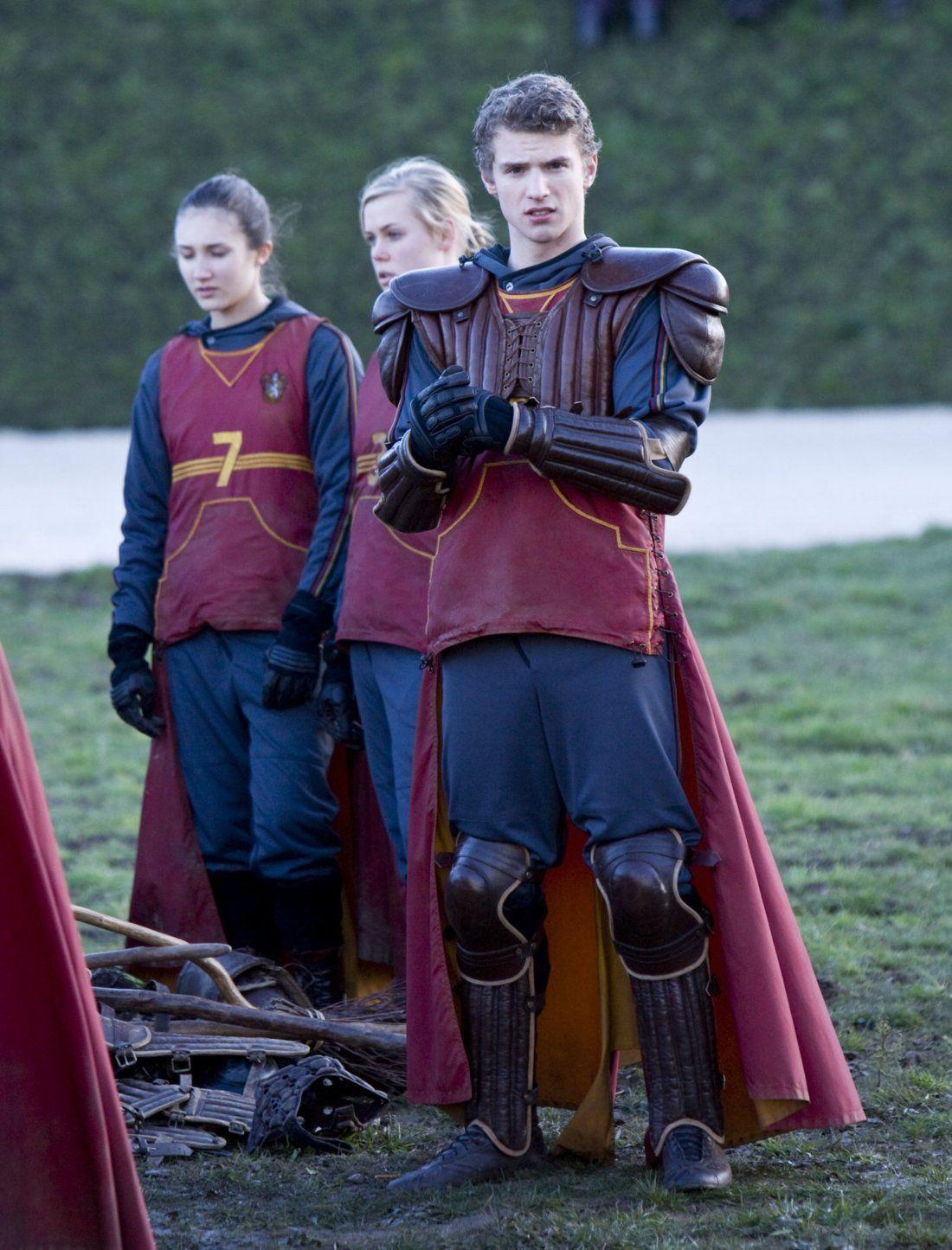 Cormac McLaggen at quidditch trials | Harry potter ...