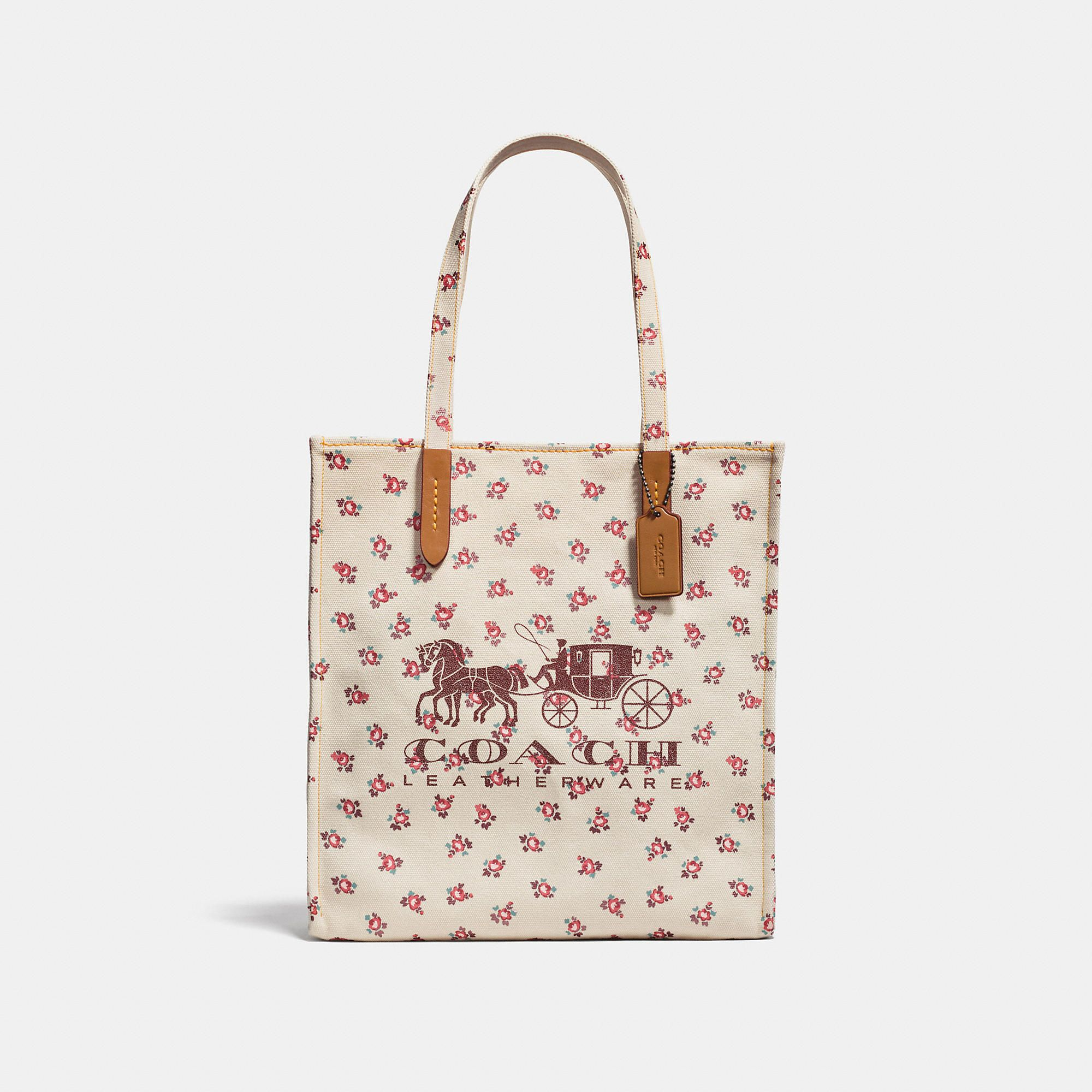 CARRIAGE AND HORSE hand COACH leather coach TOTE COACH bags bags tEOqw5W