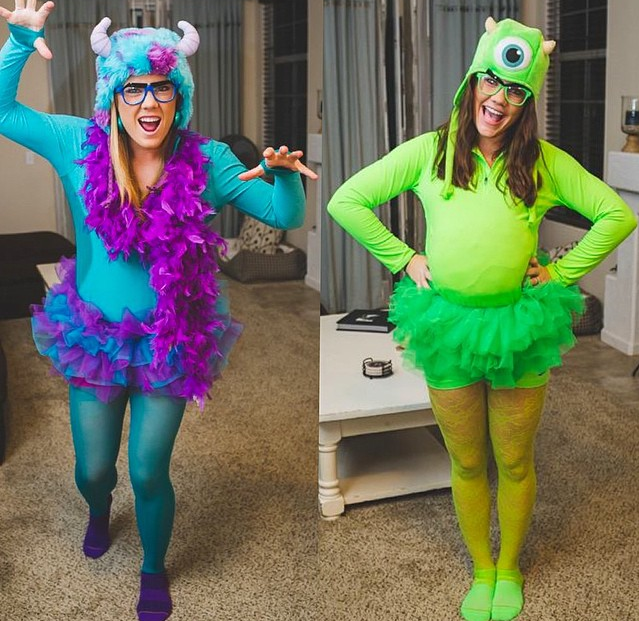 mike and sully monstersinc halloween - Sully Halloween Costumes Monsters Inc