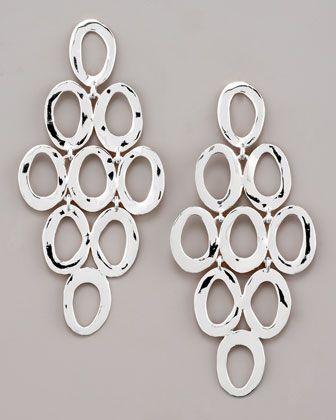 Ippolita Silver Open Cascade Post Earrings 6LqwDzK