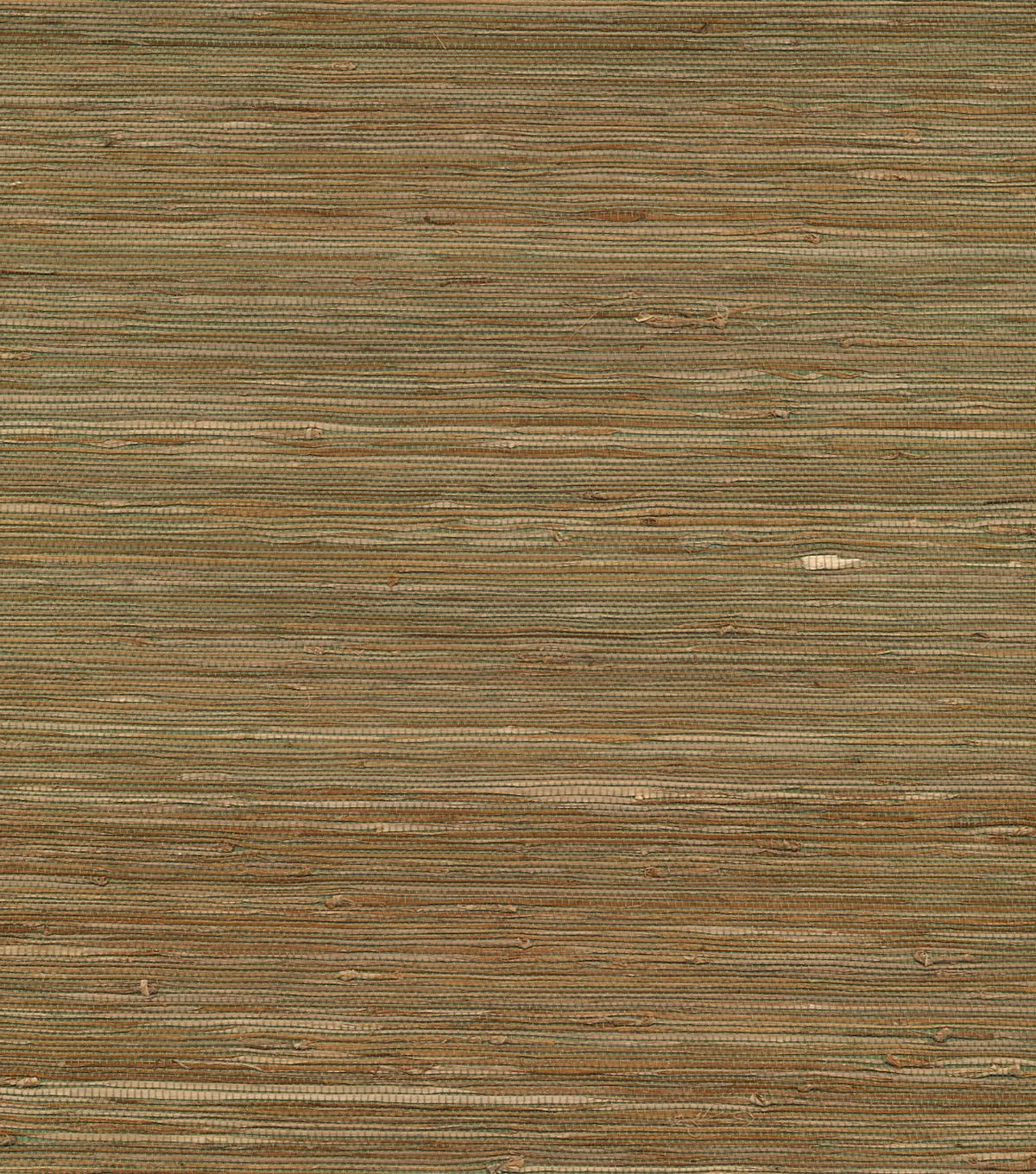 Sample Grasscloth Wallpaper in Natural from the Surface