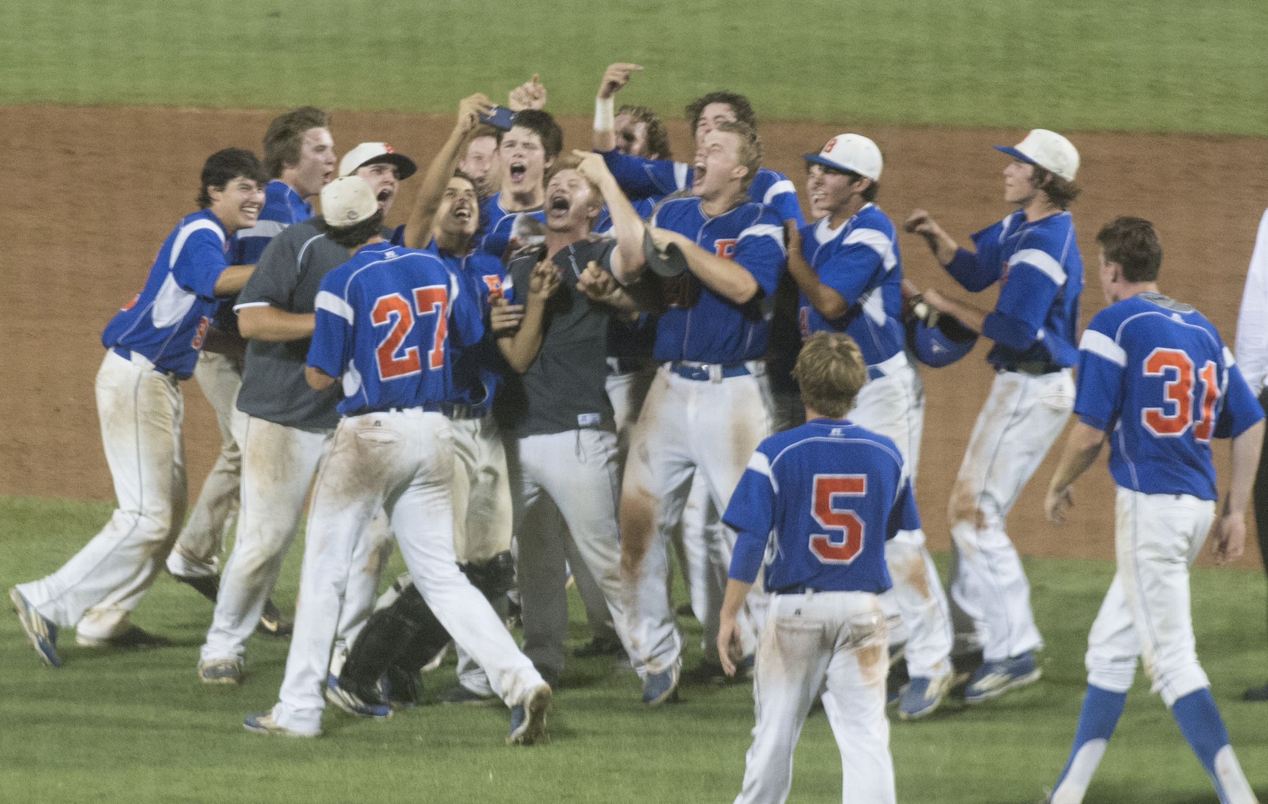 Title Time Bolles Walks Off With Baseball Championship Baseball Baseball Team Flag Football
