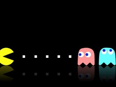 Pac Man Game Templates Powerpoint Background Available In