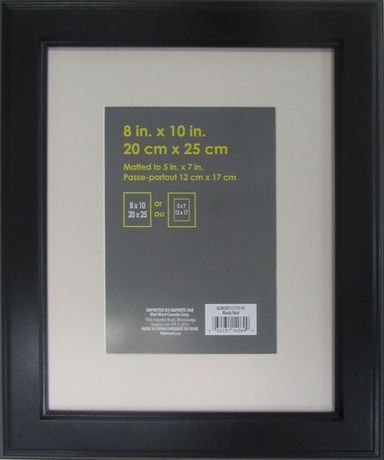Uniek Swift 8 X 10 To 5 X 7 Black Black In 2019 Products Black Photo Frames Photo Picture Frames Cadre Photo