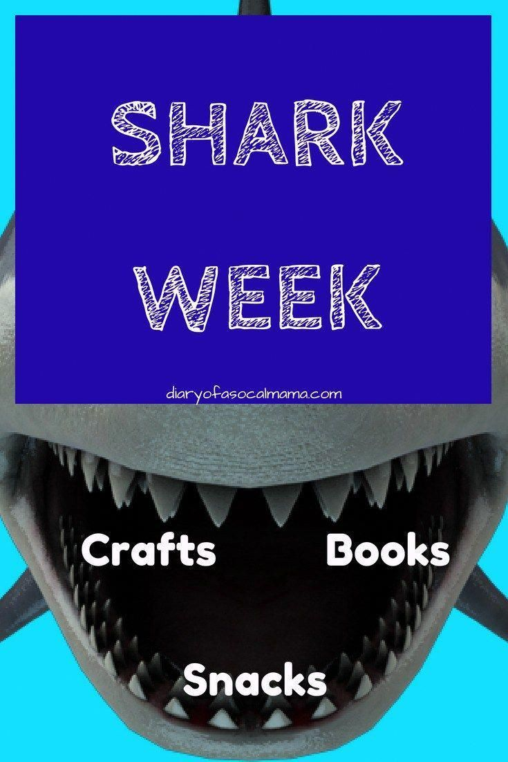 Looking for ideas for your kids to celebrate Shark Week? Find the best ideas in crafts, food, books, and toys to help have the best Shark Week party. ever! #sharks #sharkweek #crafts #snacks #kids #ocean #party #birthdayparty #sharkweekfood Looking for ideas for your kids to celebrate Shark Week? Find the best ideas in crafts, food, books, and toys to help have the best Shark Week party. ever! #sharks #sharkweek #crafts #snacks #kids #ocean #party #birthdayparty #sharkweekfood