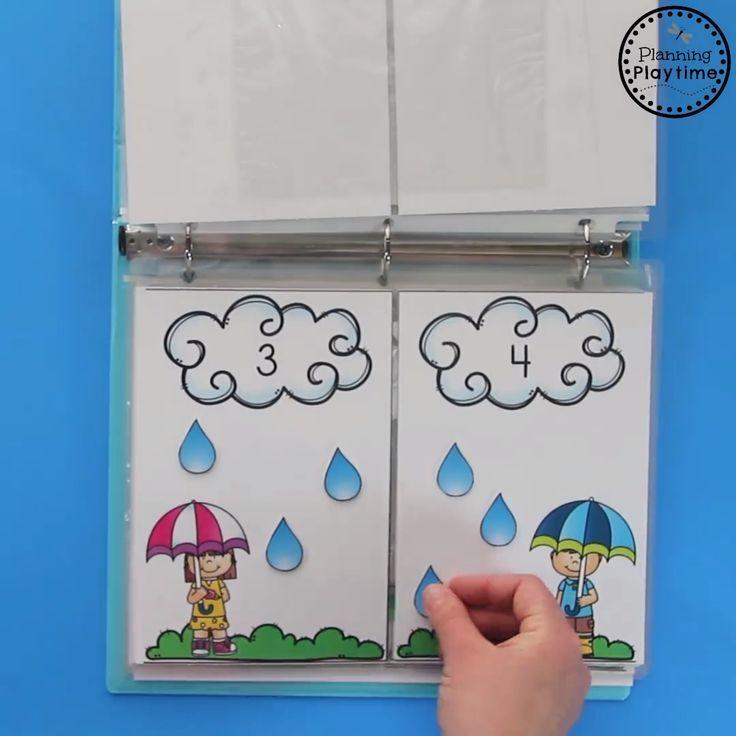 Preschool Counting Activities Binder