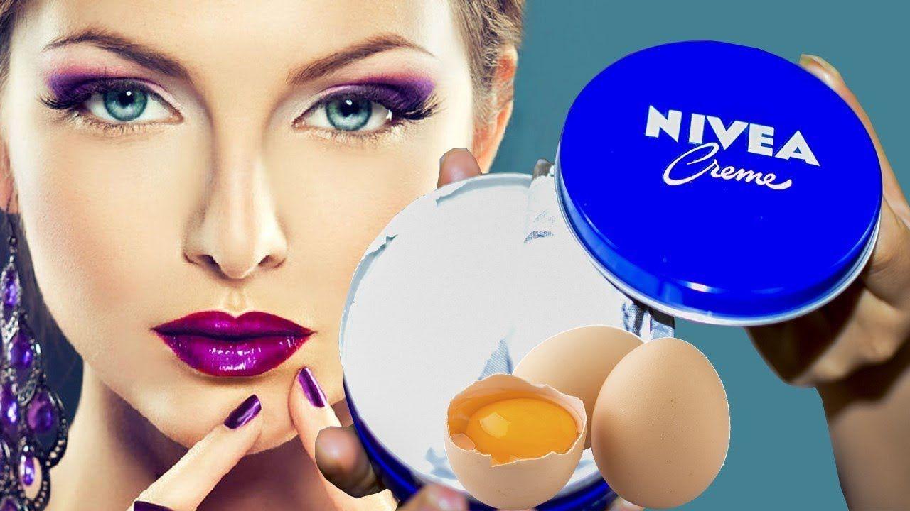 Aplica Crema Nívea con Huevo en tu Rostro y Pasará algo